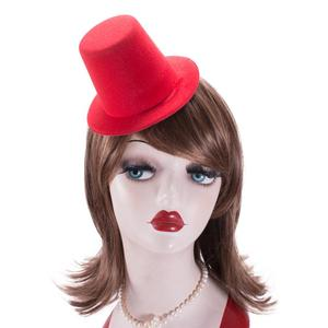 Image 5 - A006 10pcs/lot  Mini Top Tall Hat High 9cm Millinery Fascinator Base DIY Craft Fashion Simple Solid Color Hats