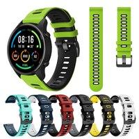 Per Xiaomi Mi Watch color sports edition Sport cinturino in Silicone cinturino da polso cinturino EasyFit cinturino sostituisci accessori