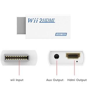 Image 4 - Voor Wii Naar Hdmi Converter Wii2HDMI Met 3.5 Mm Audio Video Output Automatische Upscaler Adapter Ondersteuning Ntsc 480i Pal 576i 1080P