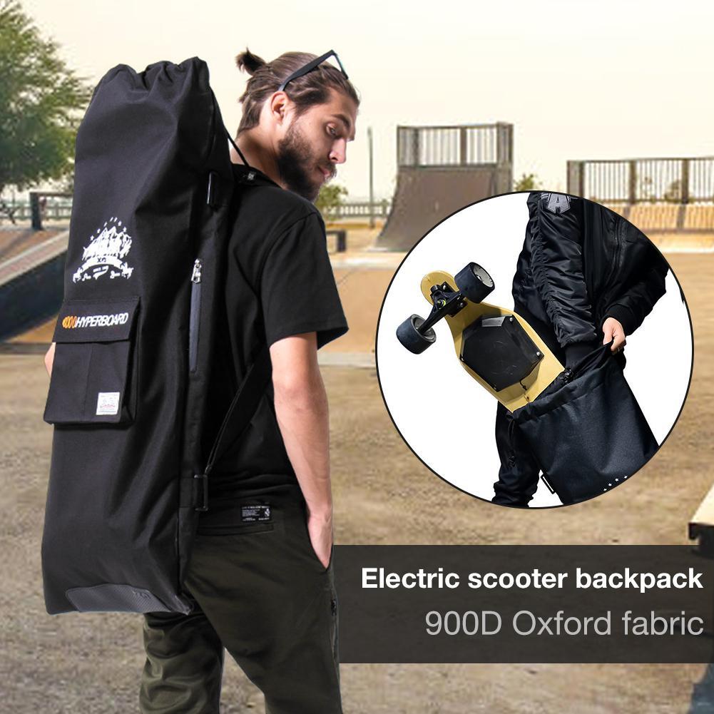 Multifunctional Design Professional Electric Skateboard Bag Shoulder Double Rocker Electric Drawstring Bag Skateboard Backpack