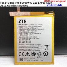2020 جديد 2540mAh Li3925T44P8h786035 بطارية ل شاشة ZTE Blade V7 Z10 BA910 A910 A512 Xiaoxian 4 BV0701 بطاريات
