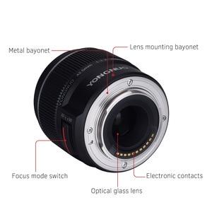 Image 5 - Yongnuo YN 42,5mm F 1,7 Große Blende AF/MF Autofokus Standard Fixfokus objektiv Leicht Unschärfe Hintergrund mit freies Linse Tuch