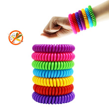 1pc Anti Mosquito Repellent Bracelets Multicolor Pest Control Insect Protection Camping Outdoor Adults Kids Infants