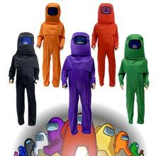 3pcs Kids Anime Game Cosplay Costumes Jumpsuit Carnival for Children Halloween Role Play Dress Up Mask Bodysuit Set