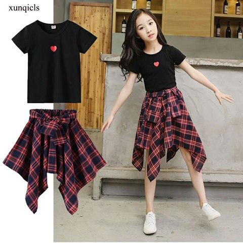 verao roupas de bebe conjunto para a menina camiseta shorts 2pc terno criancas manga curta