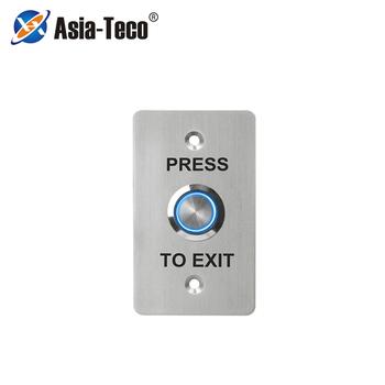 Przycisk wyjścia drzwi ze stali nierdzewnej przycisk wyjścia materiał metaliczny nadaje się do wąskiej szerokiej ramy drzwi zestaw systemu kontroli dostępu tanie i dobre opinie LUCKING DOOR CN (pochodzenie) 86*50*40mm S850L