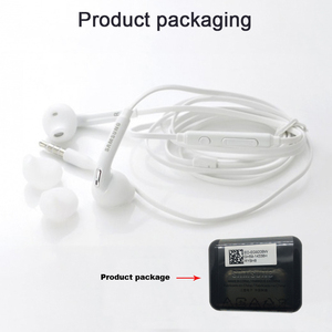 Image 5 - Samsung EG920 Wired Earphone White Black with 3.5mm In Ear Plug Speaker Microphone Headset for Xiaomi Huawei