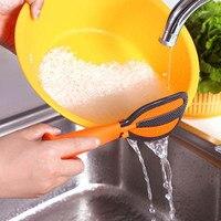 多機能回転調理ツール卵ビーター洗浄米ふるいノンスティックプラスチックライススプーン多機能垂直回転|しゃもじ|ホーム&ガーデン -