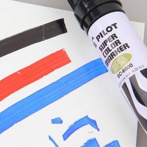 Image 4 - 3pcs PILOT SC 6600 Oil Box Head Pen Large Capacity Single Head Marking Pen Coarse Head Logistics Industry Marking Pen Head