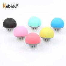 KEBIDU Mini Mushroom Portable Wireless Bluetooth Speaker Waterproof Stereo Speaker Music Player For Xiaomi iPhone 8 XS Android