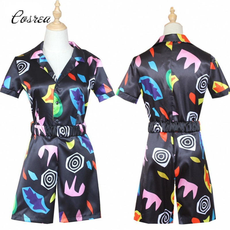 Stranger Things Costume Short  Sleeve Dress Cosplay Costume Eleven Dress Outfit 11 Girl Adult Halloween Carnival