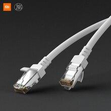 Xiaomi Mijia Kategorie 6 CAT6 Gigabit Ethernet kabel Studie Zimmer Schlafzimmer Stabile Nicht Caton Bringen RJ45 Netzwerk Port Stabile Computer