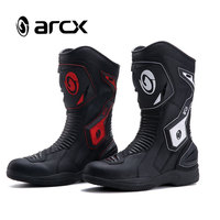 New ARCX Motorcycle Riding Boots Waterproof Leather Anti fall Motorcycle Racing Shoes L60566