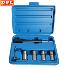 5PCS Diesel Injector Seat Cutter Tool Set Cleaner Carbon Cutting Tool Kit