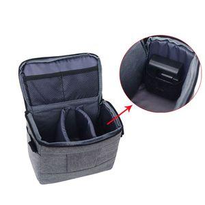 Image 3 - Kamera kamera çantası sırt çantası dayanıklı Polyester omuz Crossbody çanta su geçirmez fotoğraf fotoğraf taşıma çantası Canon Nikon için