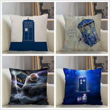 Musife New Custom Doctor Who Pillowcase Sofa Decorative Cushion Cover Pillowcase Home Decor Drop Shipping Wholesale