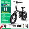 Electric bike MAX 45km/h  800W 500W 48V electric mountain bike vtt 4.0 fat tire Electric Bicycle beach ebike