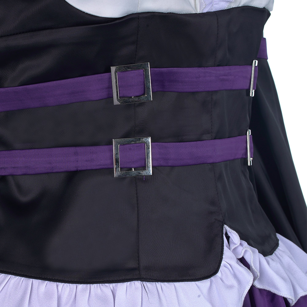 Details about  /Anime Fairy Tail Erza Scarlet Cosplay Costume Dress Carnival Halloween Outfit/&