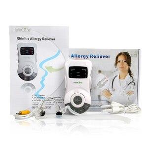 Image 5 - Soins du nez, soulagement des allergies, Laser basse fréquence, dispositif de traitement Anti ronflement, appareil de Massage