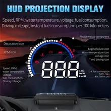 Overspeed-Alarm Windshield-Projector HUD Car-Head-Up-Display Auto Electronics NEW M13