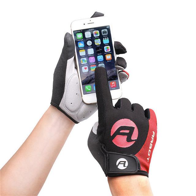 Anti-slip Gel Pad Bike Gloves Touch Screen Men Women Cycling Gloves MTB Road Bike Motorcycle Full Finger Gloves