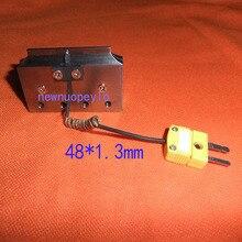 Cabezal de unión para máquina de reparación de pantalla de TV LCD, 68x1,3mm, 48x1,3mm, cortador de prensa en caliente
