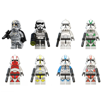 8 Style Star Wars Compatible Lepining Building Blocks Model Dolls  Action Figures Bricks Toys Children Birthday Gift Toys цена 2017