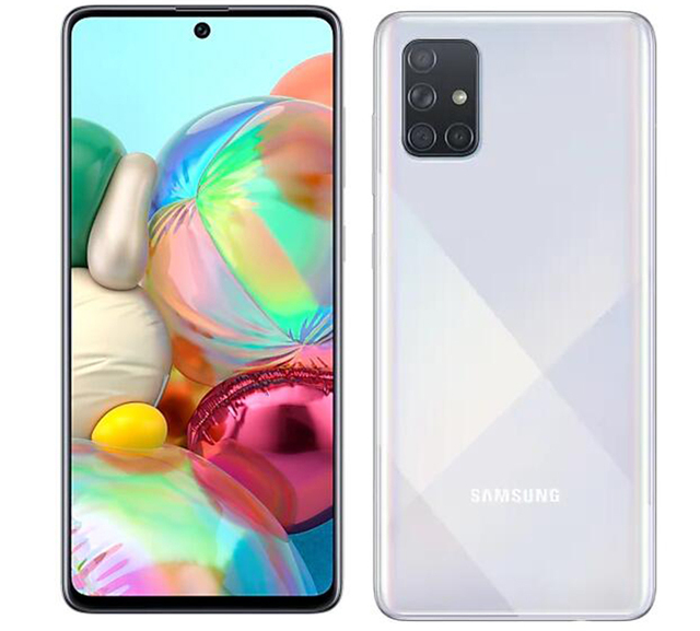 "Global Version Samsung Galaxy A71 A715F/DS 8GB 128GB Mobile Phone Snapdragon 730 6.7"" Quad Camera 64MP 32MP 4500mAh 4G Smartphon 6"