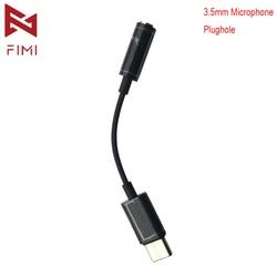 FIMI oficjalnych Fimi dłoni kamera kardanowa 3.5mm mikrofon odpływ wtyczka Transfer Adapter gniazda Jack FIMI dłoni kamera kardanowa akcesoria do kamery Przegub Cardana Elektronika użytkowa -