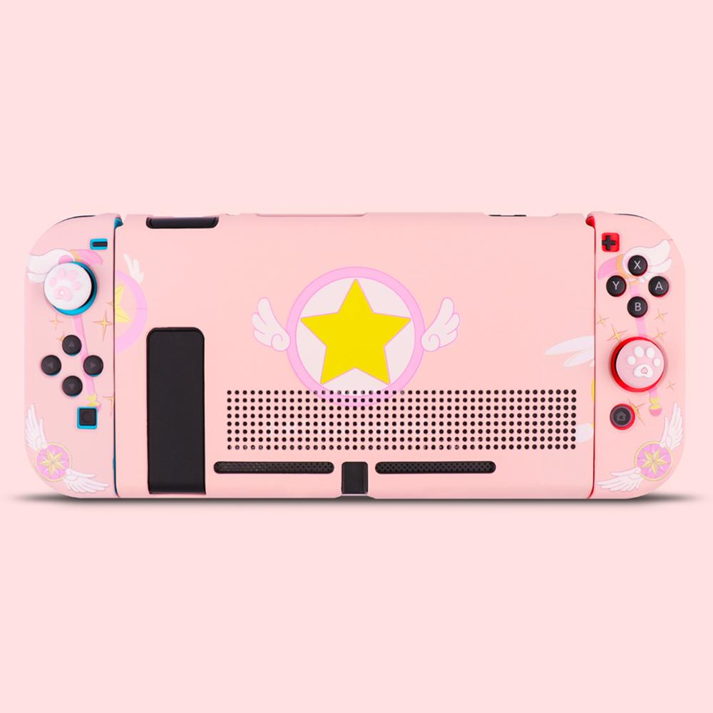 iBen Protective Case Shell For Nintend Switch Shells Case PC Housing Shell Pink Case For Nintend Switch Joy Con Shell