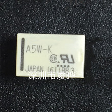 10 pçs/lote Relé A5W-K A12W-K A24W-K 5VDC 12VDC 24VDC 5V 12V 24V DIP-10 PIN-10 Novo Em Stock