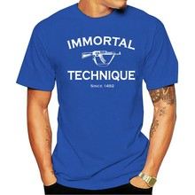 NEW IMMORTAL TECHNIQUE 4 NEW T-Shirt USA SIZE EM1 Cotton Tee Shirt Funny Design(China)