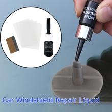 DIY Car Windshield Repair Tool Kit Glass Nano Repair Fluid Car Window Windscreen Scratch Restore Car Cracked Glass Repair Fluid