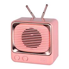 Mini Wireless Stereo Retro Speakers Portable Wireless Loud Speaker Sound System 3D Stereo Music Surround Outdoor Speaker mini bluetooth speaker portable wireless speaker sound system 3d stereo music surround tf usb super bass column acoustic system