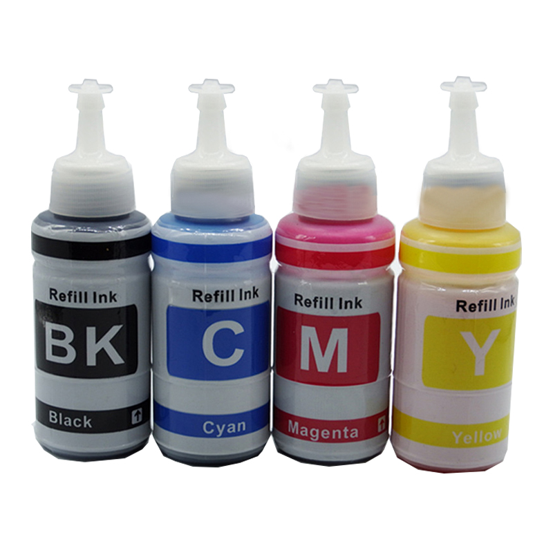 Bottle Refill Dye Ink Kit For Epson L100 L110 L200 L210 L300 L355 L120 L130 L1300 L220 L310 L365 L455 L550 L565 Printer