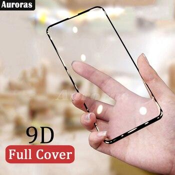 Las Auroras para Motorola G8 Protector de pantalla de templado de vidrio de película para Motorola G8 Moto G8 9D de la cubierta completa pantalla película
