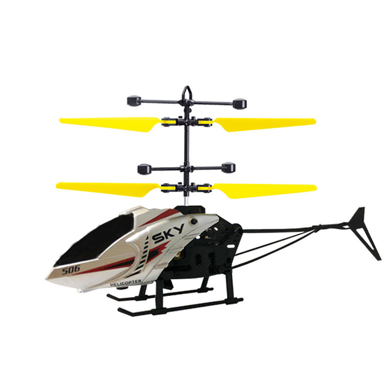 Remote Control Helicopter With Light USB Charging Low Noise For 3-8Y Kids Boys Toys High Quality