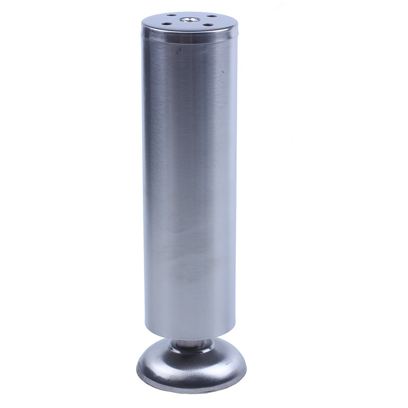 50mm X 200mm Adjustable Cabinet Sofa Table Leg Feet Round Stand
