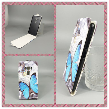 for ASUS ZenFone 3 ZE552KL Case Dual sim Hot Pattern Cute PrintingVertical Flip Cover Open Down/up Back Cover filp leather case image
