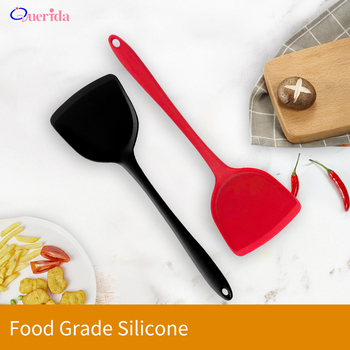 1PCS Silicone Cooking Kitchen Utensils High Temperature Non-stick Spatula Shovel Food Grade Baking Pastry Tools Accessories image