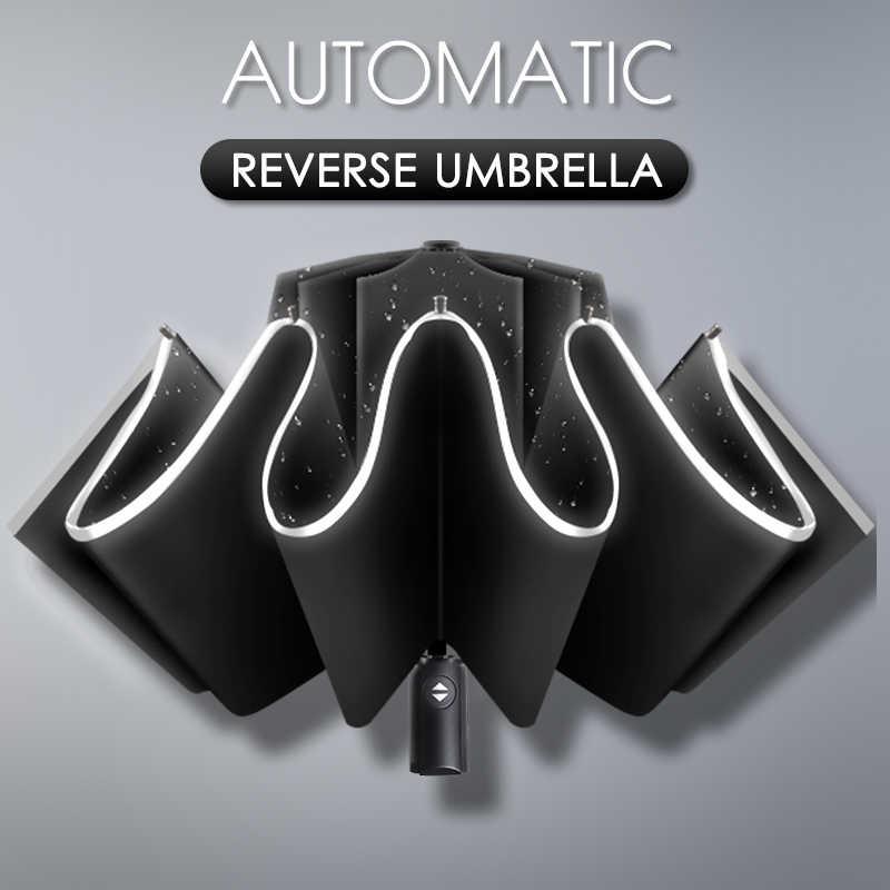 Parapluie de Voyage Coupe-Vent Compact Parapluie invers/é Pliant Plat Parapluie l/éger Parasol Parapluie Pliant ext/érieur Mini Parapluie Portable /& exp/édi/é Rapidement de France Beige, Mini