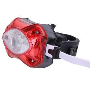 USB Перезаряжаемый задний велосипедный фонарь лампа задний фонарь Raypal водонепроницаемый яркий светодиодный велосипедный фонарь высокого качества