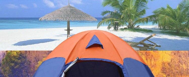 Mongolian Yurt Tent Fishing Mosquito Net Picnic Family Outdoor Camp Summer Beach Camping Tent 5 Person Waterproof (2)