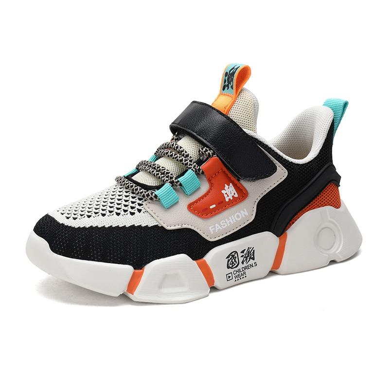 2020 спортивная детская обувь, кроссовки для мальчиков, модная повседневная детская обувь для мальчиков, спортивная обувь для бега, детская о...