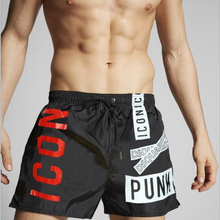 2021 Summer Men's Casual Beach Pants Quick-Drying Pants Men's Five-Point Shorts Breathable Sports Basketball Letter Shorts M-3XL