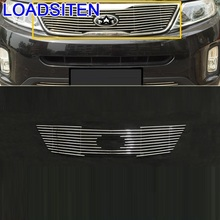 Parts Decoration Modification Accessory Upgraded Exterior Protector car auto Accessories Racing Grills 13 FOR Kia Sorento