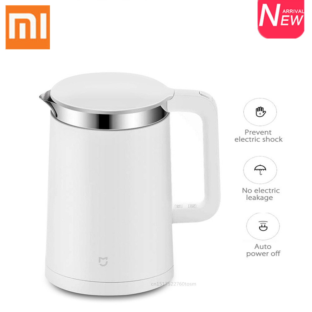 Xiaomi Mijia Electric Kettle 1.5L Fast Boiling Water Kettle Smart Home APP Control Constant Temperature Stainless Steel Teapot