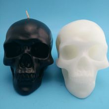 Halloween Skull Candles Black Candles Table Decorations and Various Halloween Lights Festival Access