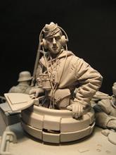 1/16 hars cijfers Tank driver soldaten Unpainted en Gemonteerde kit 1639D