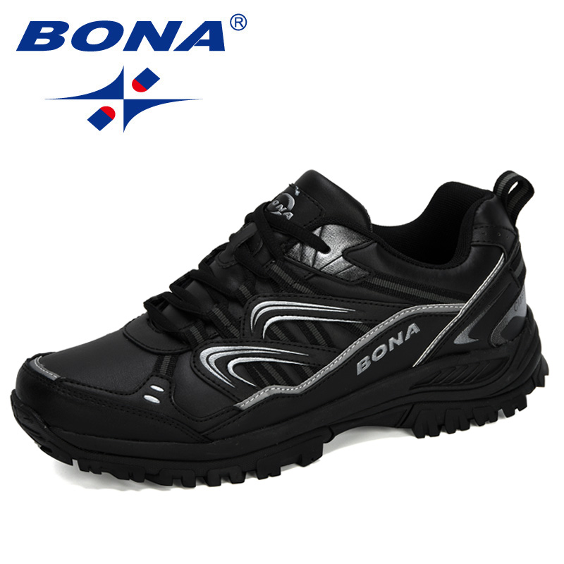 BONA 2020 New Designers Hiking Shoes Male Mountain Climbing Trekking Shoes Man Cow Split Sport Walking Shoes Men Trendy Sneakers|Hiking Shoes| |  - title=